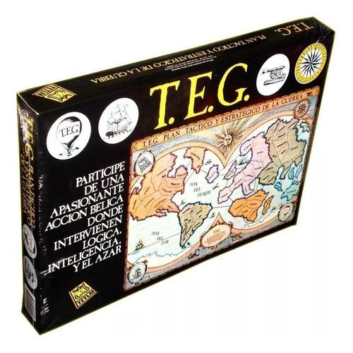 Imagen 1 de 4 de Juego de mesa T.E.G. Tradicional Yetem