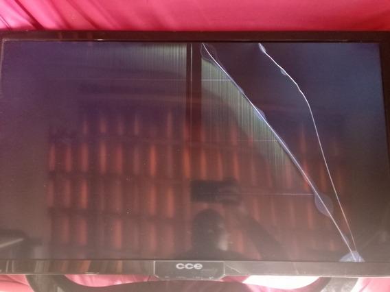 Tv Cce Ln32g Tela Quebrada.