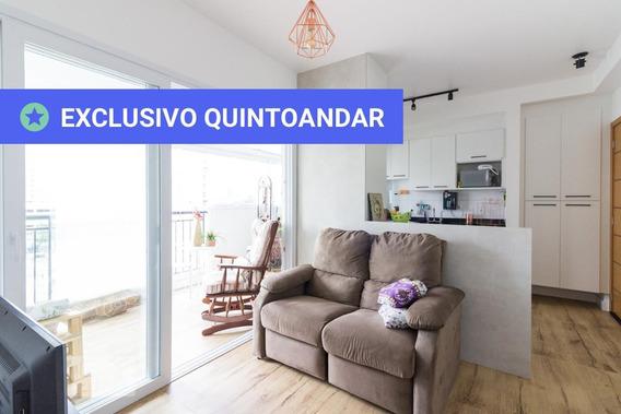 Apartamento No 10º Andar Mobiliado Com 1 Dormitório E 1 Garagem - Id: 892983371 - 283371