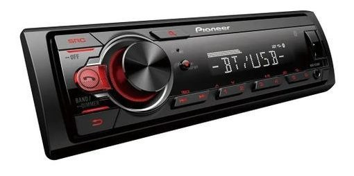 Pioneer Mp3 Player Mvhs218bt Usb Frontal Bluetooth Fm