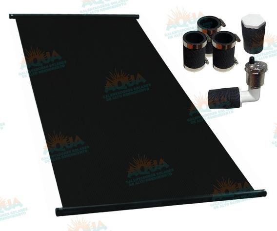 Panel Solar Para Alberca. Paquete De 4 Paneles Incluye Acce