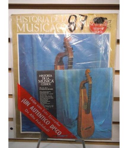 Historia De La Musica Codex 87 Fasiculo Y Disco Lp Acetato