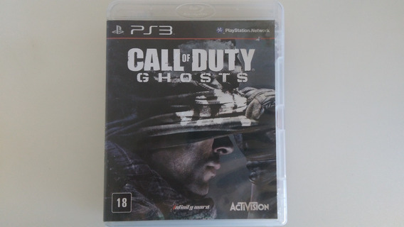 Jogo Call Of Duty Ghost Do Ps3 Original