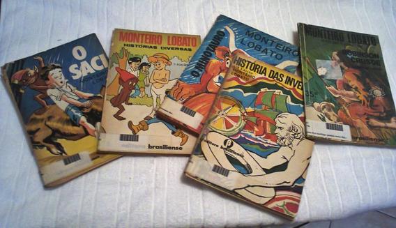 21 Livros - Monteiro Lobato - Editora Brasiliense