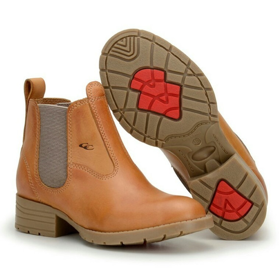 Bota Botina Infantil Country Kids Texana Couro Masculina 015