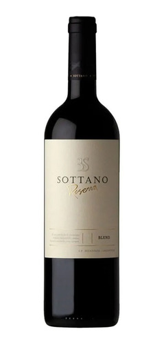 Vino Sottano Reserva Blend 750 Ml Caja X 6