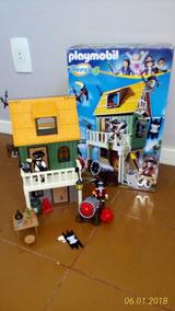 Playmobil (original) - Forte Pirata Camuflado - Ref. 4796