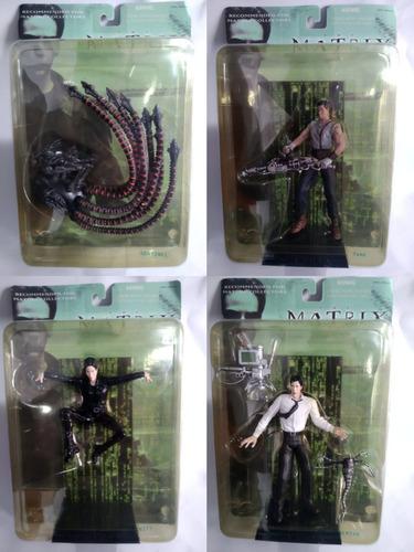 Lote 4 Figuras The Matrix N2toys .