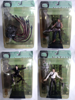 Lote 4 Figuras The Matrix N2toys .