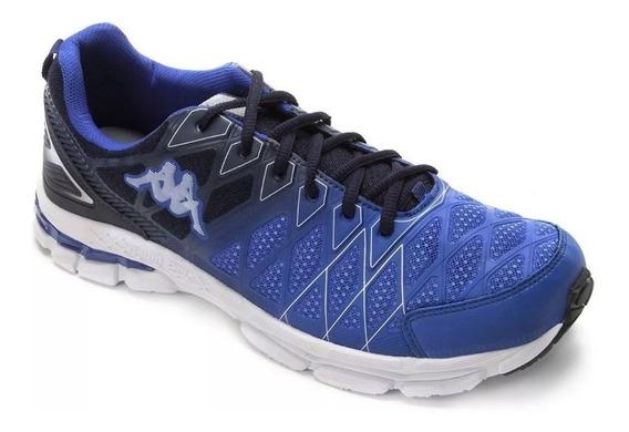 Tênis Tracking Masculino Solado Gel Tamanho 40 Azul Royal