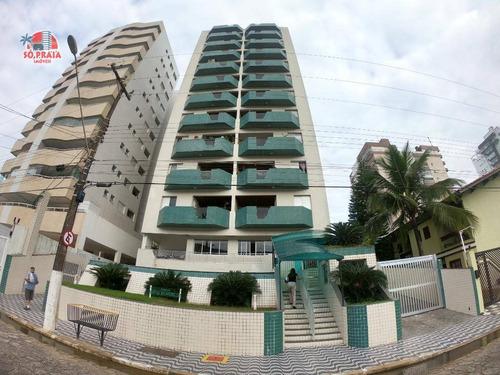 Imagem 1 de 26 de Apartamento À Venda, 85 M² Por R$ 295.000,00 - Centro - Mongaguá/sp - Ap2247