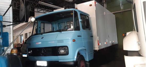 Mb 608 1986 Baú Refrigerado