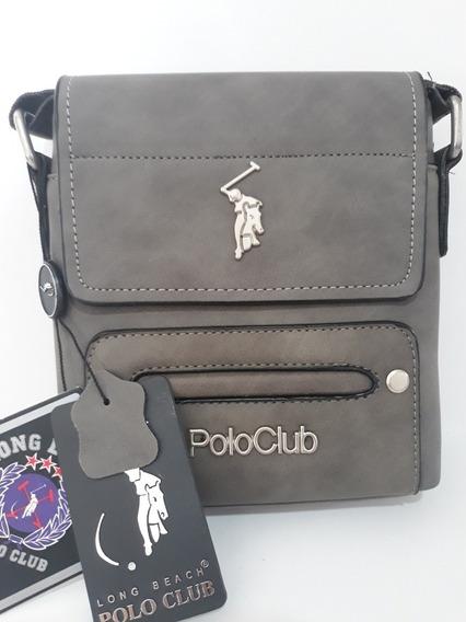 Mochilas Bandoleras Mariconeras Bolsas Polo Club Original