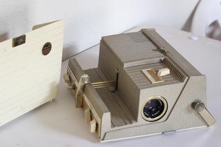 Proyector Vintage Sayer 500t Para Coleccionistas Diapositiva