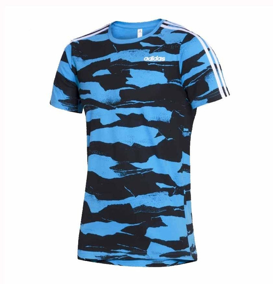 Remera adidas All Lovers Print Azul/ne Hombre Deporfan