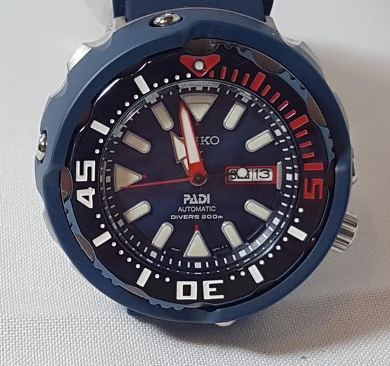 Relógio Seiko Tuna Prospex Padi Edição Especial Cx E Doc.