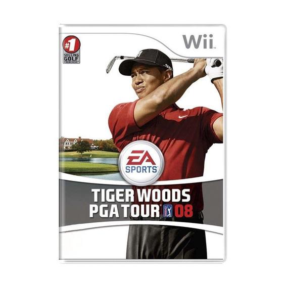 Tiger Woods Pga Tour 08 Wii Mídia Física Pronta Entrega
