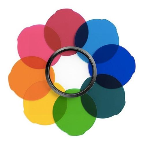Imagen 1 de 2 de Juego Filtros Multicolor Para Lámparas Led Lumie Mlfiltercol