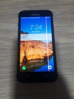 Samsung Galaxy S7 Active 32gb Com Uma Listra No Visor,