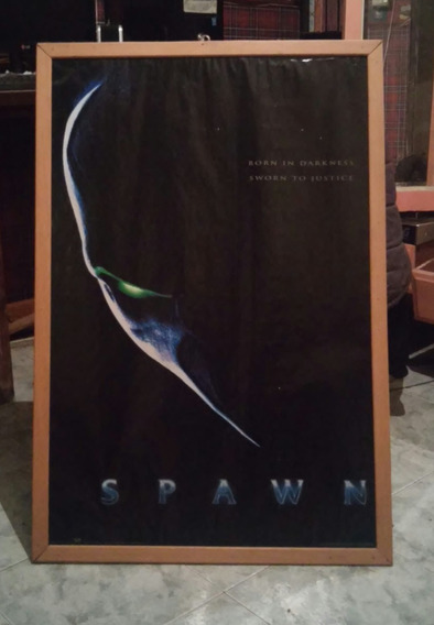 Poster Encuadrado De Spawn. 94 × 63 Ctros