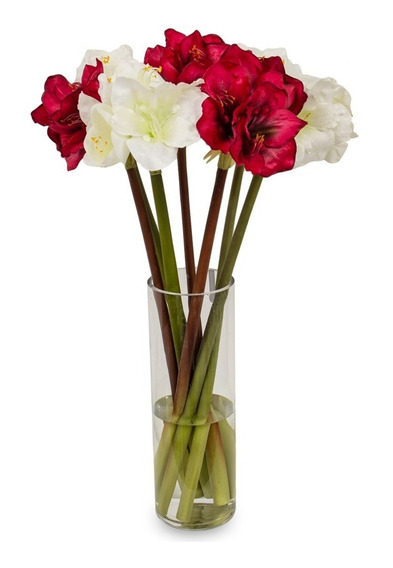 Flor Vara De Amarilis 83 Cm
