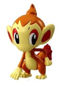 Pokemon Trainer Choice Mini Chimchar Original Tomy