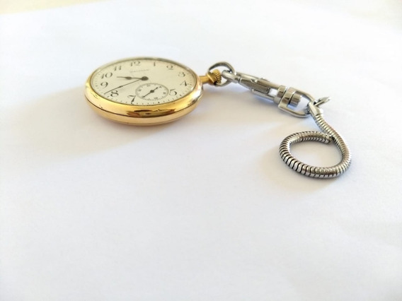 Reloj De Bolsillo Antiguo Waltham Del Año 1911 Chapa De Oro