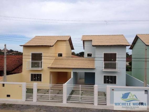 Casa Duplex Para Venda Em Araruama, Areal, 2 Dormitórios, 2 Suítes, 1 Banheiro, 2 Vagas - 105