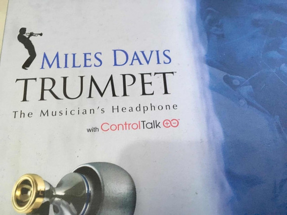 Fone Miles Davis Monstera Raríssimo