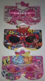 Lentes De Sol Para Niños Minnie Hello Kitty, Pony, Spiderman