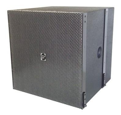 Caixa Acústica Eco Som Profissional Sub Grave Br18 Fly Ativa