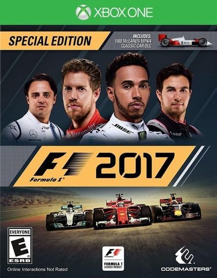 F1 2017 Formula 1 17 - Xbox One - Mídia Digital