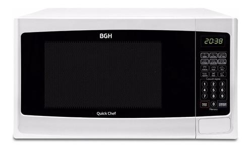 Microondas Grill BGH Quick Chef B228DB  blanco 28L 220V