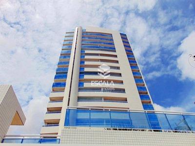 Apartamento Com 3 Dormitórios À Venda, 141 M², Lazer Completo, 3 Vagas Luciano Cavalcante - Fortaleza/ce - Ap0401
