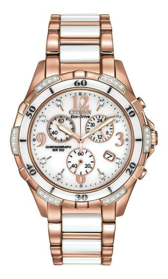 Relógio Feminino Citizen Fb1233-51a Cerâmica, Aço Inoxidável