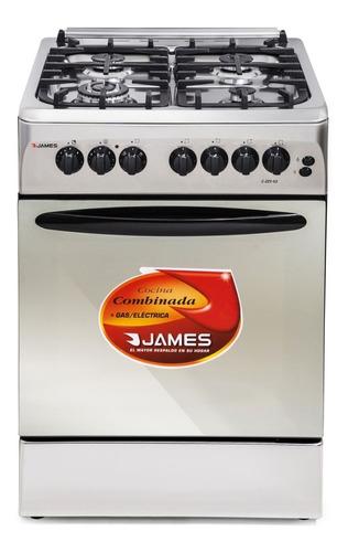 Cocina Combinada Electrica James C225 Inoxidable Dimm