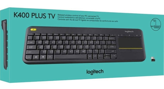 Teclado Wireless Touch Keyboard K400 Plus Tv - Logitech