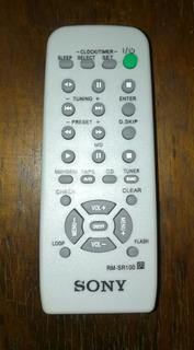 Control Equipo Sonido Sony