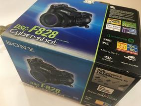 Camera Cyber Shot Dcs F828 Na Caixa!