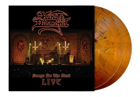 King Diamond Songs For The Dead Live 2 Lp 180g Orange Brown