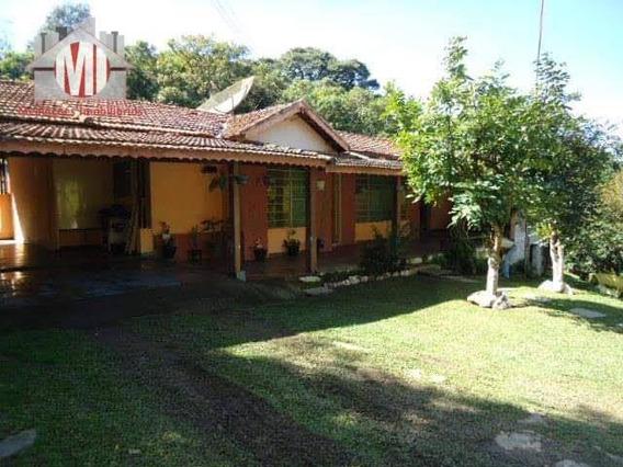 Chácara Com Escritura, 05 Dormitórios À Venda, 30000 M² Por R$ 420.000 - Zona Rural - Pinhalzinho/sp - Ch0491
