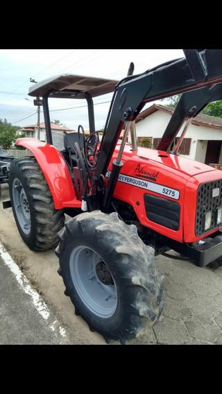 Trator Massey Ferguson 5275 Com Concha