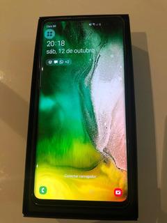 Samsung Galaxy S10+ Ceramic Black - 512gb - Impecável