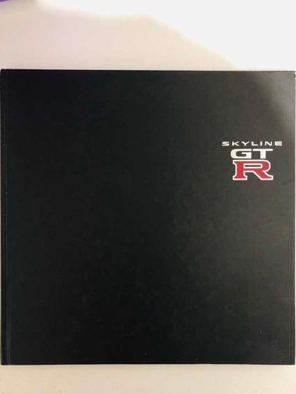 Nissan Skyline Gtr 34 R34 Catálogo Raro