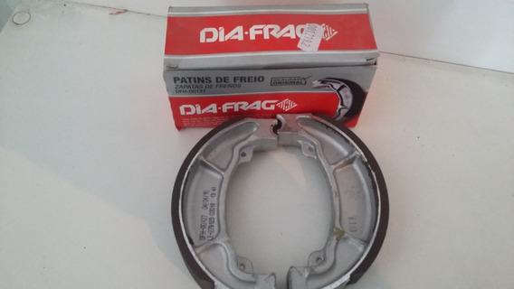 Patim Lona Freio Titan/fan/150 125/160 Traseiro/diant