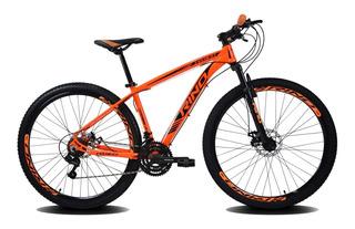 Bicicleta Aro 29 Rino Everest Freio Hidráulic 21v Cambi Shim