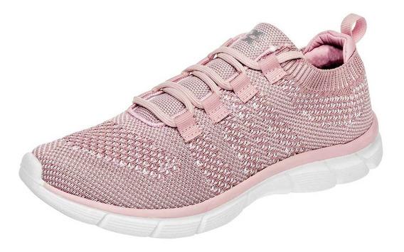 360 Tenis De Mujer 79422-1 Color Rosa
