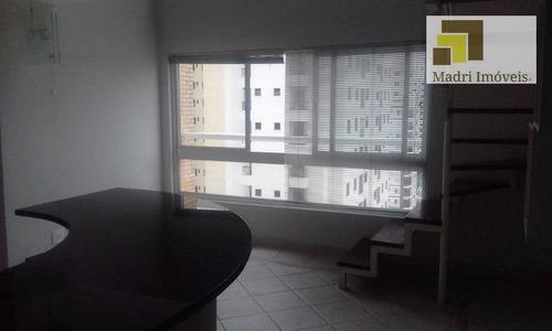 Apartamento Duplex Com 1 Dormitório Para Alugar, 38 M² Por R$ 1.800,00/mês - Vila Leopoldina - São Paulo/sp - Ad0026