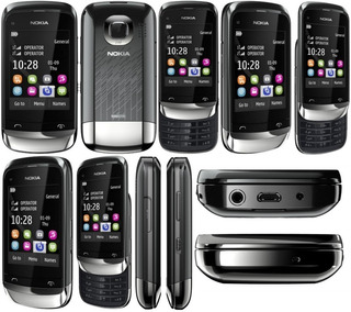 Nokia C2 06 3g Quadi Band Dual Chip Usado Em Ótimo Estado