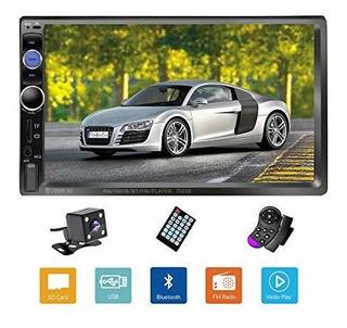 Podofo Double Din Car Stereo / Audio / Radio 7 Monitores Lcd